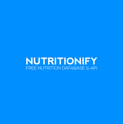 Nutritionify